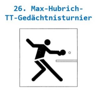 26. Max-Hubrich-TT-Gedächtnisturnier
