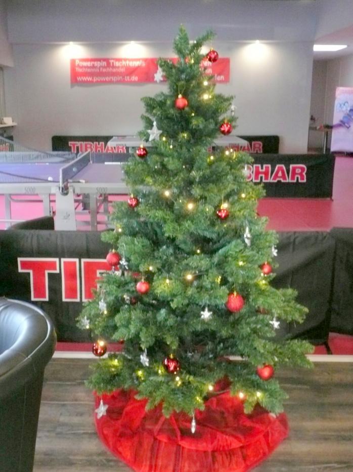 Weihnachtsbaum bei Powerspin