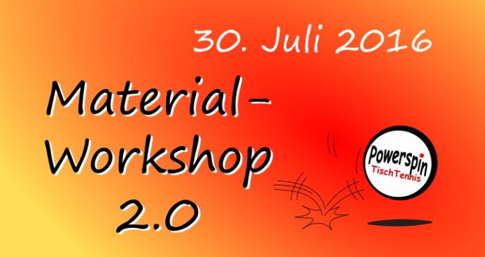 Materialworkshop 2.0
