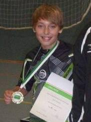 Heye Koepke (hier nach Gewinn der Landesragliste Niedersachsen C-Schüler in 2013)