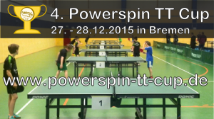4. Powerspin Tischtennis Cup 2015